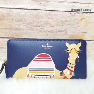 Camel Neda Spice Things Up Wallet Kate Spade Blue